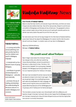 Newsletter sisiny